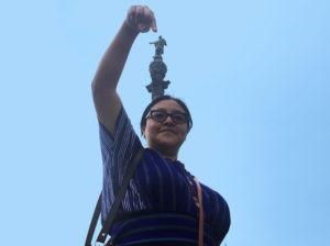 Pensadora, escritora y activista Maya Kaqchikel.